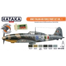 HTK-CS103 WW2 Italian Air Force Paint set vol. 1