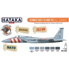 HTK-CS43 Ultimate USAF F15 paint set (all variants)