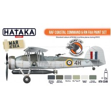 HTK-CS49 RAF Coastal Command & RN FAA paint set