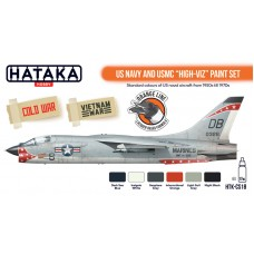 "HTK-CS18 ""US Navy and USMC ""high-viz"" Paint Set"