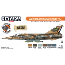 HTK-CS50 South African Air Force paint set vol. 1