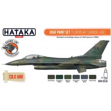 HTK-CS10 USAF Paint Set (European Camouflage)