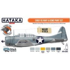 HTK-CS53 Early US Navy & USMC paint set