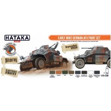 HTK-CS88 Early WW2 German AFV paint set