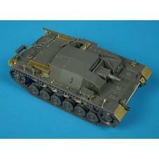 Stug.III Ausf.B 1/48 Photo-etch for Tamiya kit