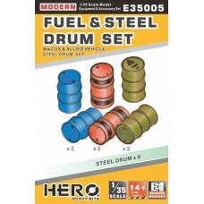 Fuel & Steel Drum Set 1/35