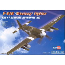 North American P-51B Mustang Easy Assembly 1/72