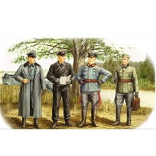 German Officers 1/35