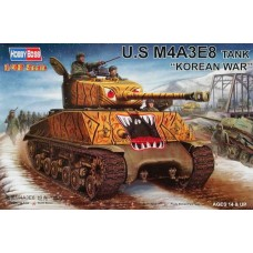 U.S. M4A3E8 Tank Korean War 1/48