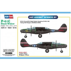 P-61C Black Widow Easy Assembly 1/72