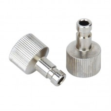 """1/8"""" Airbrush Quick Release Disconnect Male Plug, 2 pcs"""