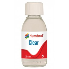 Humbrol Gloss Clear 125ml - Replacement for Johnson's Klear floor polish