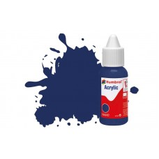 Humbrol Acrylic No 15 Midnight Blue - Gloss - 14ml
