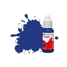 Humbrol Acrylic No 25 Blue - Matt - 14ml