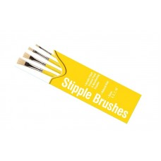 Stipple Brush Pack 4 pcs