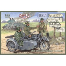 BMW R12 with sidecar - military versions 1/35