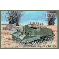 Universal Carrier with Boys 14,5mm 1/72