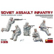 Soviet Assault Infantry (Winter Camouflage Cloaks) 1/35