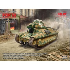 FCM 36 WWII French Light Tank 1/35