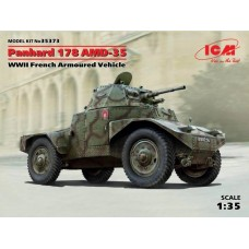 Panhard 178 AMD-35 WWII French Armoured Vehicle 1/35