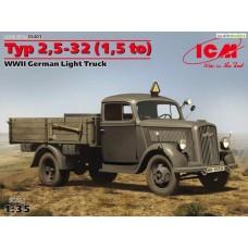 Opel Blitz Typ 2,5-32 (1,5to) 1/35