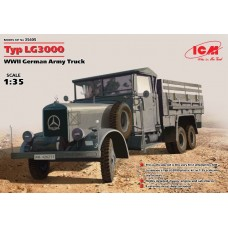Mercedes-Benz LG 3000 German Army Truck 1/35