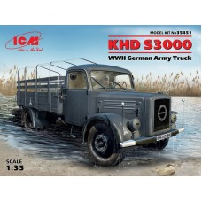 KHD S3000 WWII German Army Truck 1/35