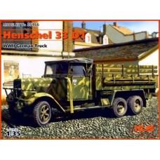 Henschel 33 D1 WWII German Truck 1/35