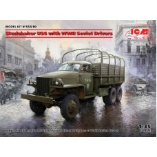 Studebaker US6 with WWII Soviet Drivers 1/35