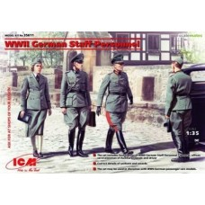 German Staff Personnel 1/35
