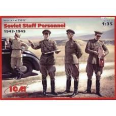 Soviet Staff Personnel 1943-1945 1/35
