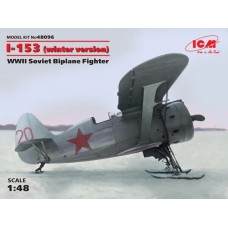 Polikarpov I-153 Chaika Winter Version 1/48