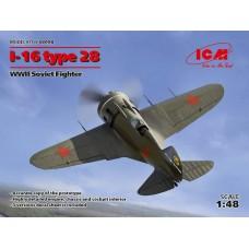 Polikarpov I-16 Type 28 1/48