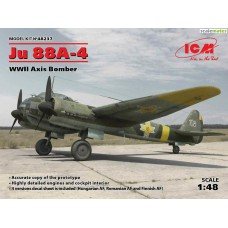 Junkers Ju 88A-4 Axis Bomber 1/48