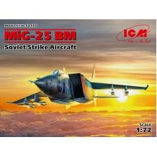 MiG-25BM Soviet Strike Aircraft 1/72