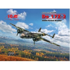 Dornier Do 17Z-2 WWII Finnish Bomber 1/72
