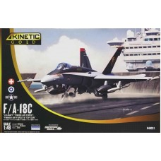 F/A-18C Hornet US Navy, Swiss Air Force, Finnish Air Force & Topgun 1/48