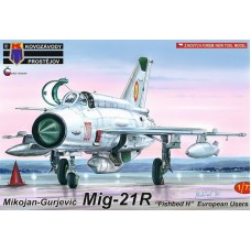 """Mikoyan-Gurevich MiG-21R """"Fishbed H"""" European Users 1/72"""