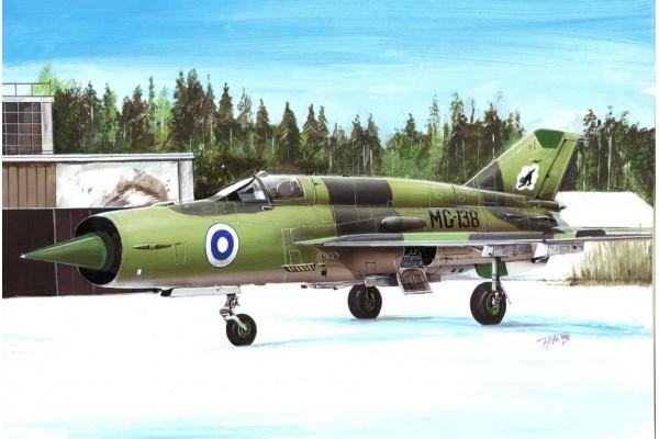 Mikoyan-Gurevich MiG-21bis Fishbed-L Pt.2 1/72