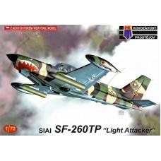 """SIAI-Marchetti SF-260TP """"Light Attacker"""" 1/72"""
