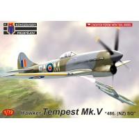 "Hawker Tempest Mk.V ""486. (NZ) SQ"" 1/72"
