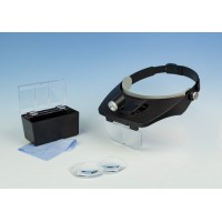 Lightcraft LED Headband Magnifier Kit with Bi-Plate Magnification