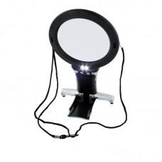 Lightcraft Dual Purpose Neck & Desk Magnifier