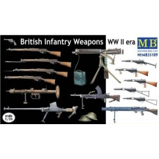 British Infantry Weapons WW II era 1/35