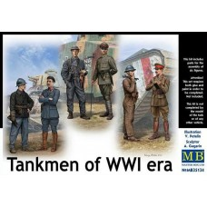 Tankmen of WWI era 1/35