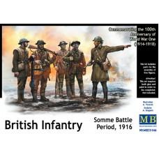 British Infantry, Somme Battle Period 1916 1/35