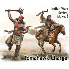 "Indian Wars Series, Kit No. 2 ""Tomahawk Charge"" 1/35"
