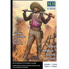 Outlaw. Gunslinger series. Kit No. 3. Pedro Melgoza - Bounty Hunter 1/35