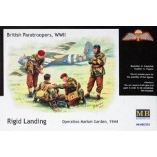 British Paratroopers, WWII Rigid Landing Operation Market Garden 1944 1/35