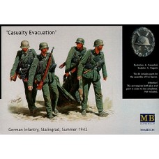 Casualty Evacuation German Infantry, Stalingrad, Summer 1942 1/35